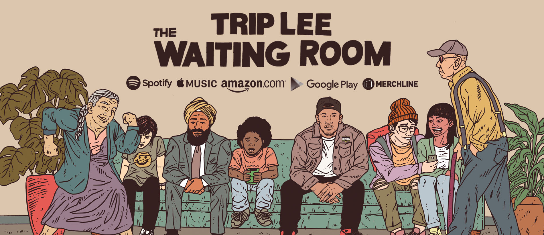 TRIP LEE X THE WAITING ROOM X OUT NOW