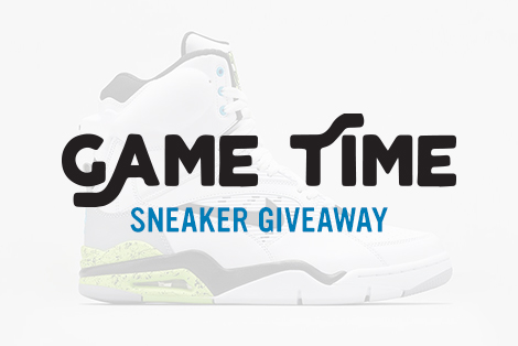 "Andy Mineo ""Game Time"" Sneaker Giveaway"