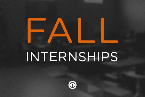 Fall Internships