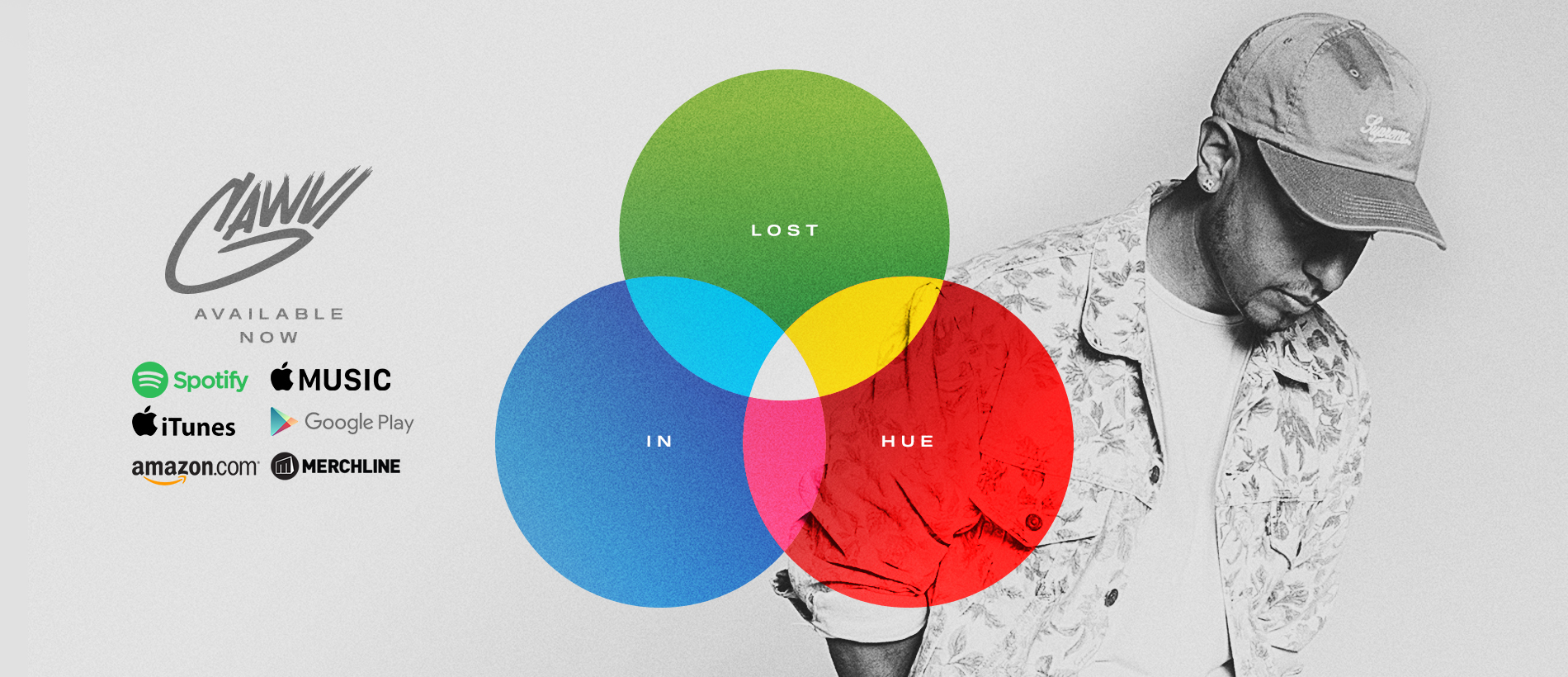 GAWVI x LOST IN HUE x OUT NOW