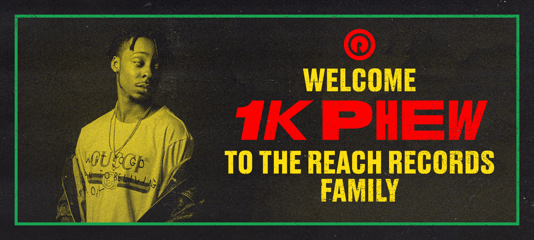 1K Phew Joins Reach Records