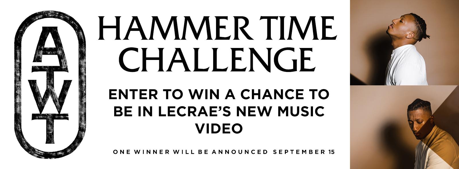 """Lecrae x """"Hammer Time"""" Challenge"""