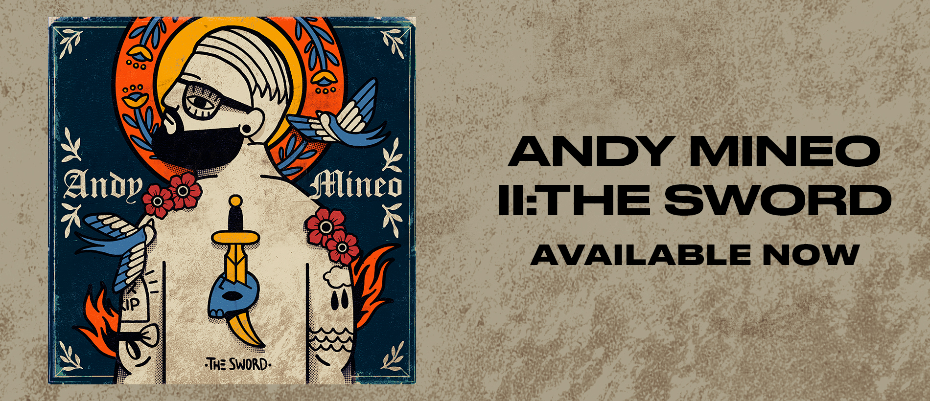 ANDY MINEO X II : THE SWORD
